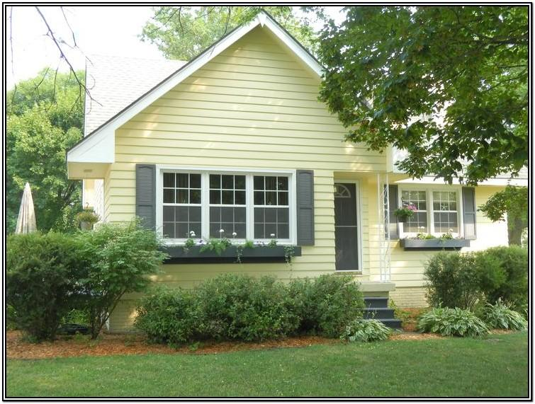 Best Yellow Exterior Paint Color