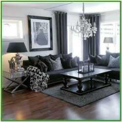 Black And Grey Living Room Accessories
