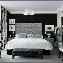 Black Bedroom Paint Ideas