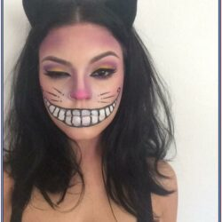 Black Cat Face Paint Ideas