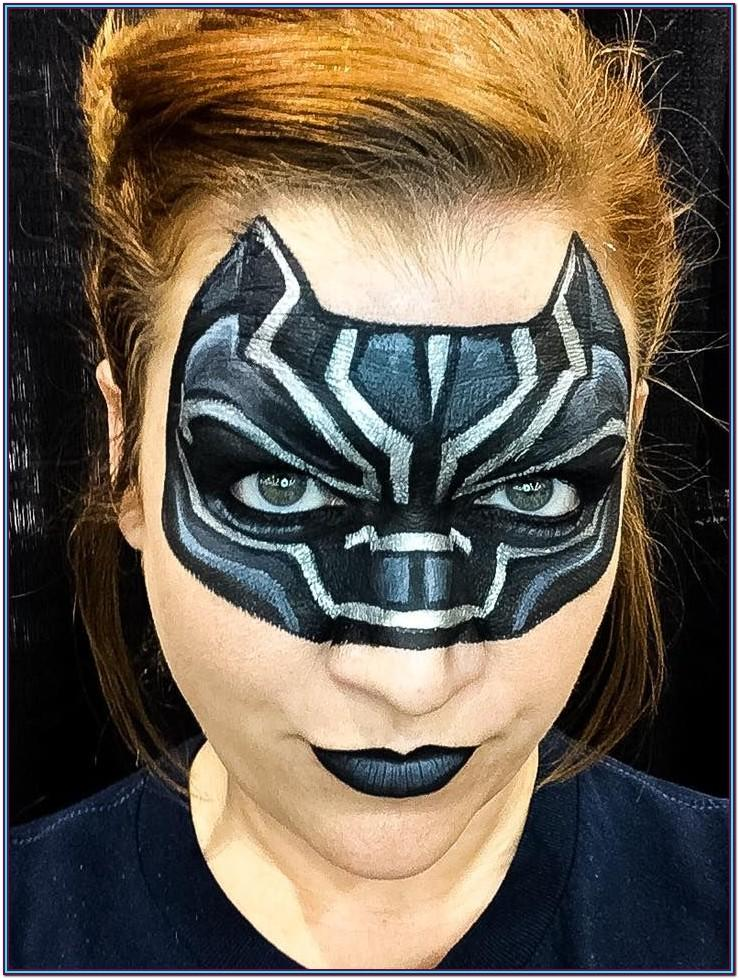 Black Panther Face Paint Ideas