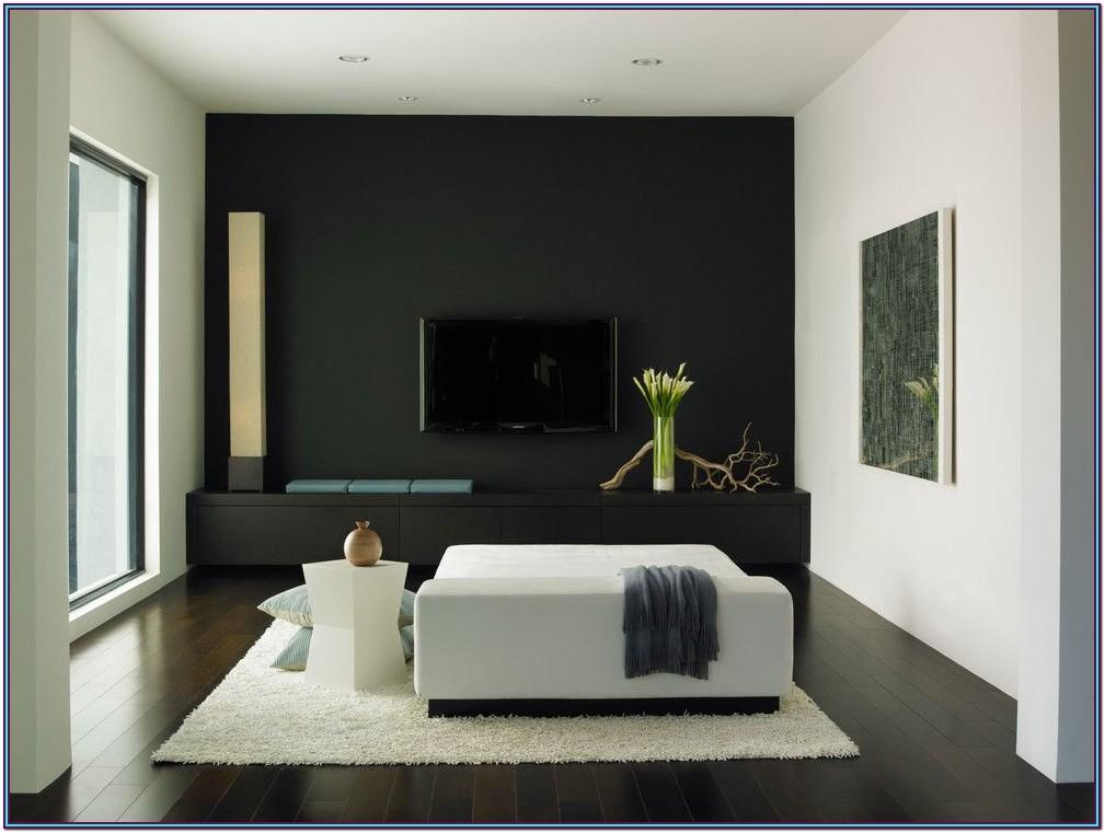 black wall paint colors