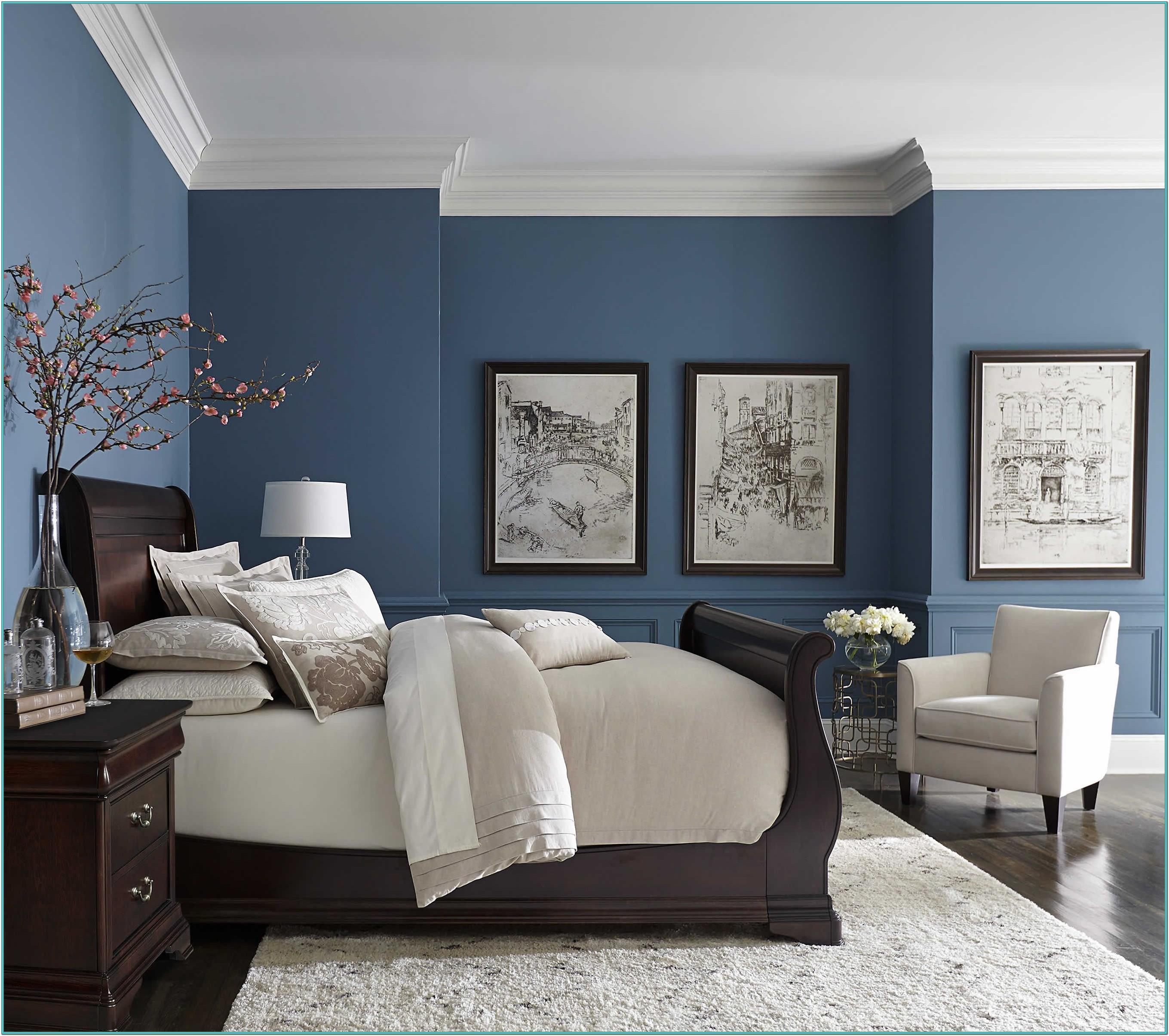 Blue Bedroom Wall Paint Ideas