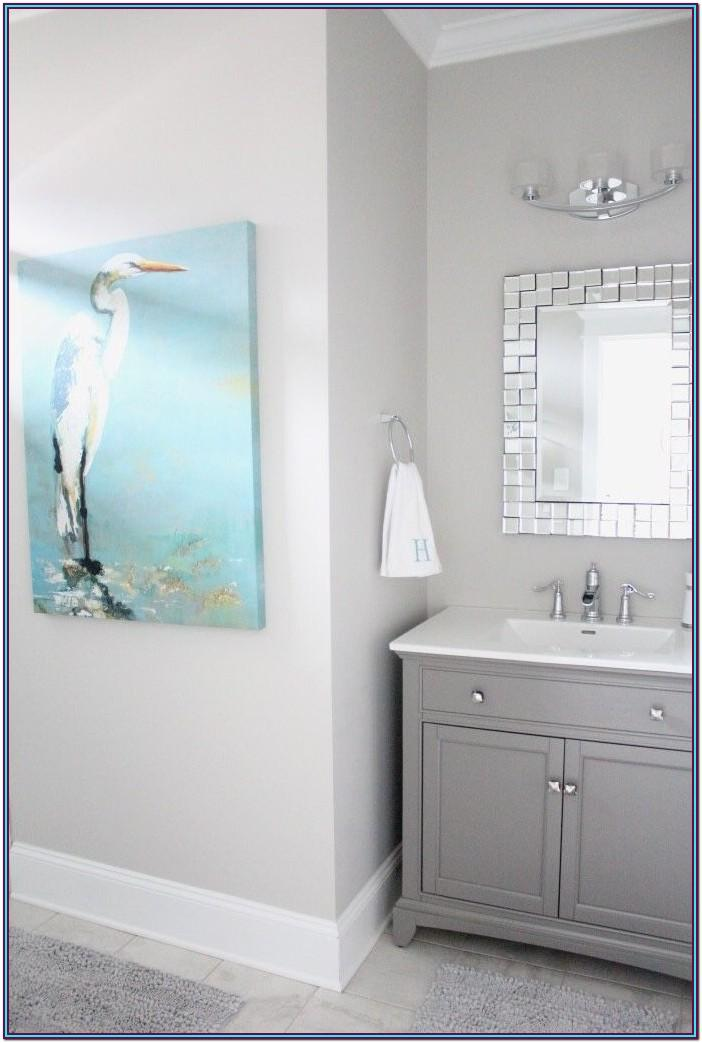 Blue Grey Bathroom Paint Colors