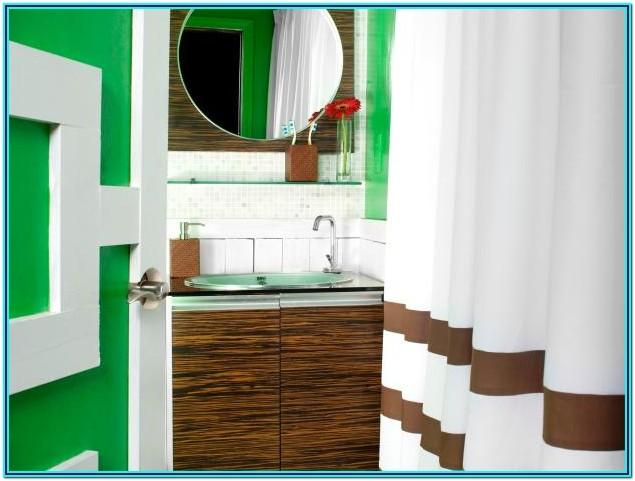 Bold Paint Colors For Small Bathrooms
