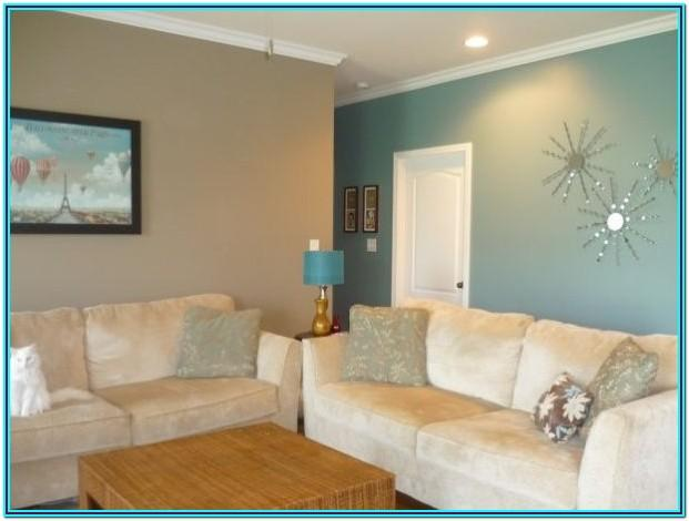 Brown And Blue Living Room Paint Ideas