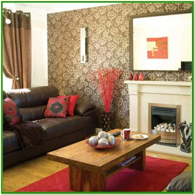 Brown And Red Living Room Decor