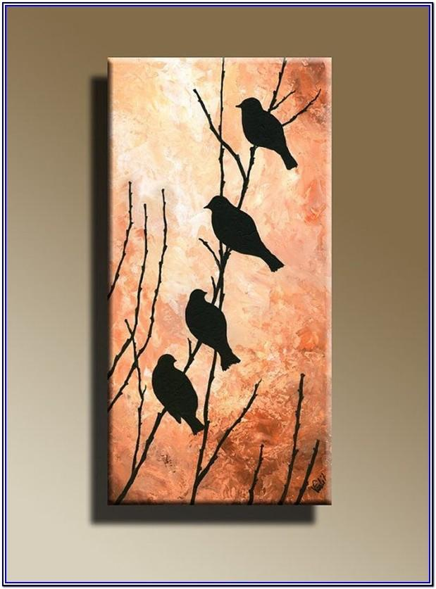 Canvas Acrylic Painting Designs