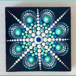 Canvas Dot Painting Ideas