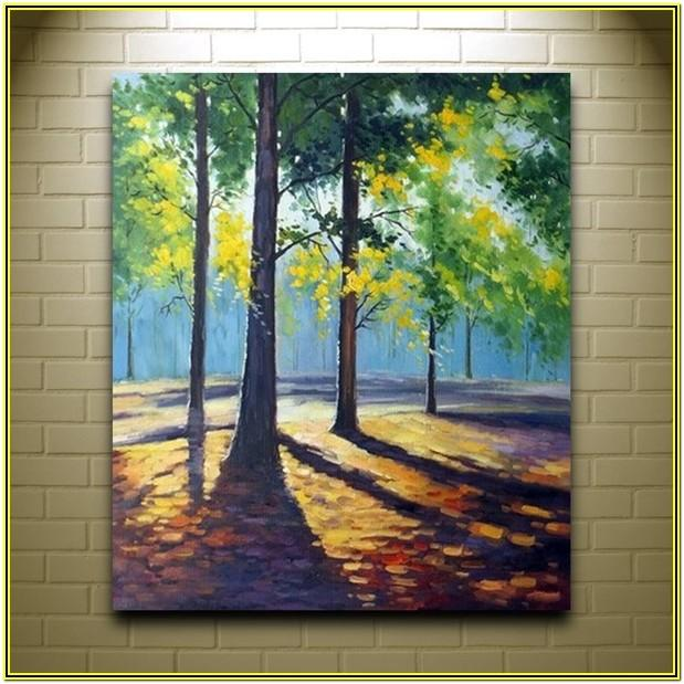 Canvas Painting Ideas Acrylic