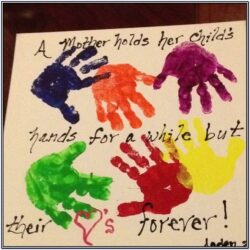 Canvas Painting Ideas For Mothers Day