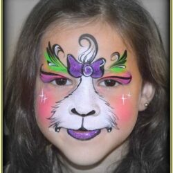 Cat Face Paint Ideas Easy