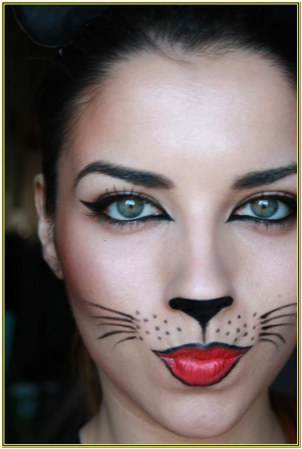 Cat Face Paint Ideas For Adults