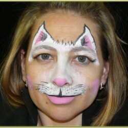 Cat Face Paint Images