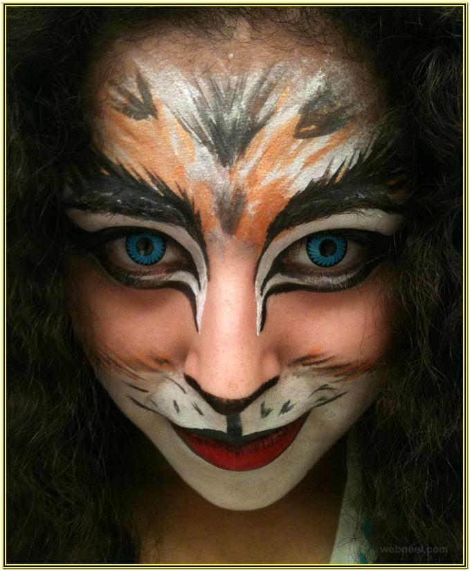 Cat Face Painting Ideas