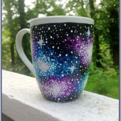 Ceramic Cup Painting Ideas