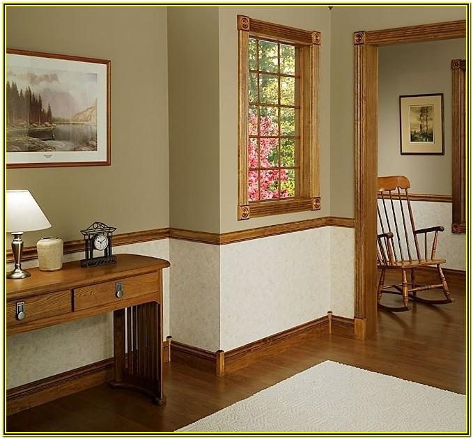 Chair Molding Paint Ideas
