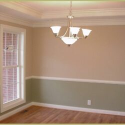 Chair Rail Wall Paint Ideas
