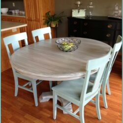 Chalk Paint Dining Table Ideas