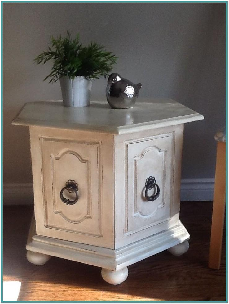 Chalk Paint End Table Ideas