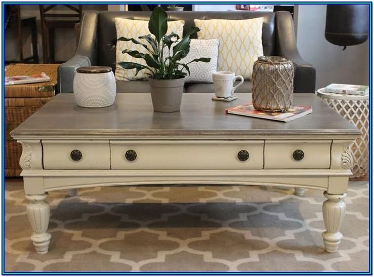 chalk paint ideas for coffee tables