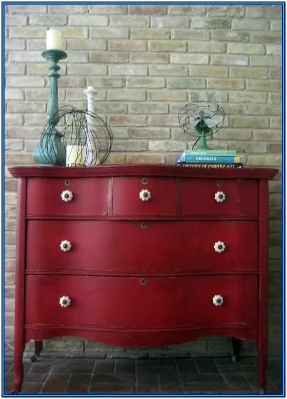 Chalk Paint Ideas For Dresser