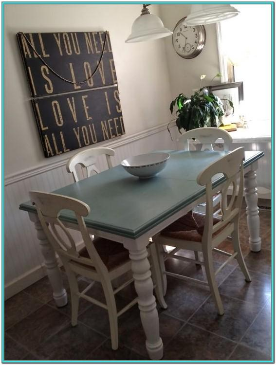 Chalk Paint Kitchen Table Ideas