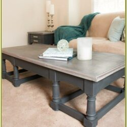 Chalk Painted Coffee Table Ideas