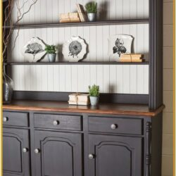 Chalk Painted Hutch Ideas