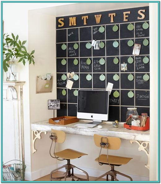 Chalkboard Paint Home Office Ideas