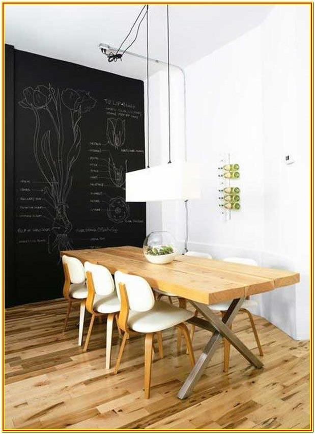 Chalkboard Paint Wall Decor