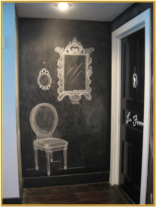 Chalkboard Paint Wall Ideas