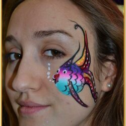 Cheek Face Painting Ideas