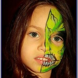 Childrens Face Painting Ideas Halloween