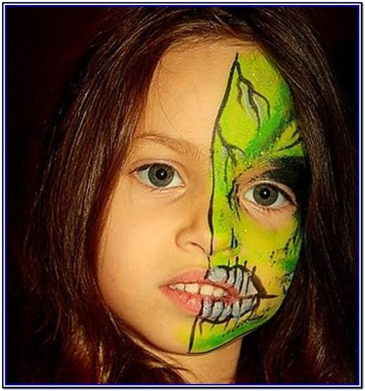 Children's Face Painting Ideas Halloween
