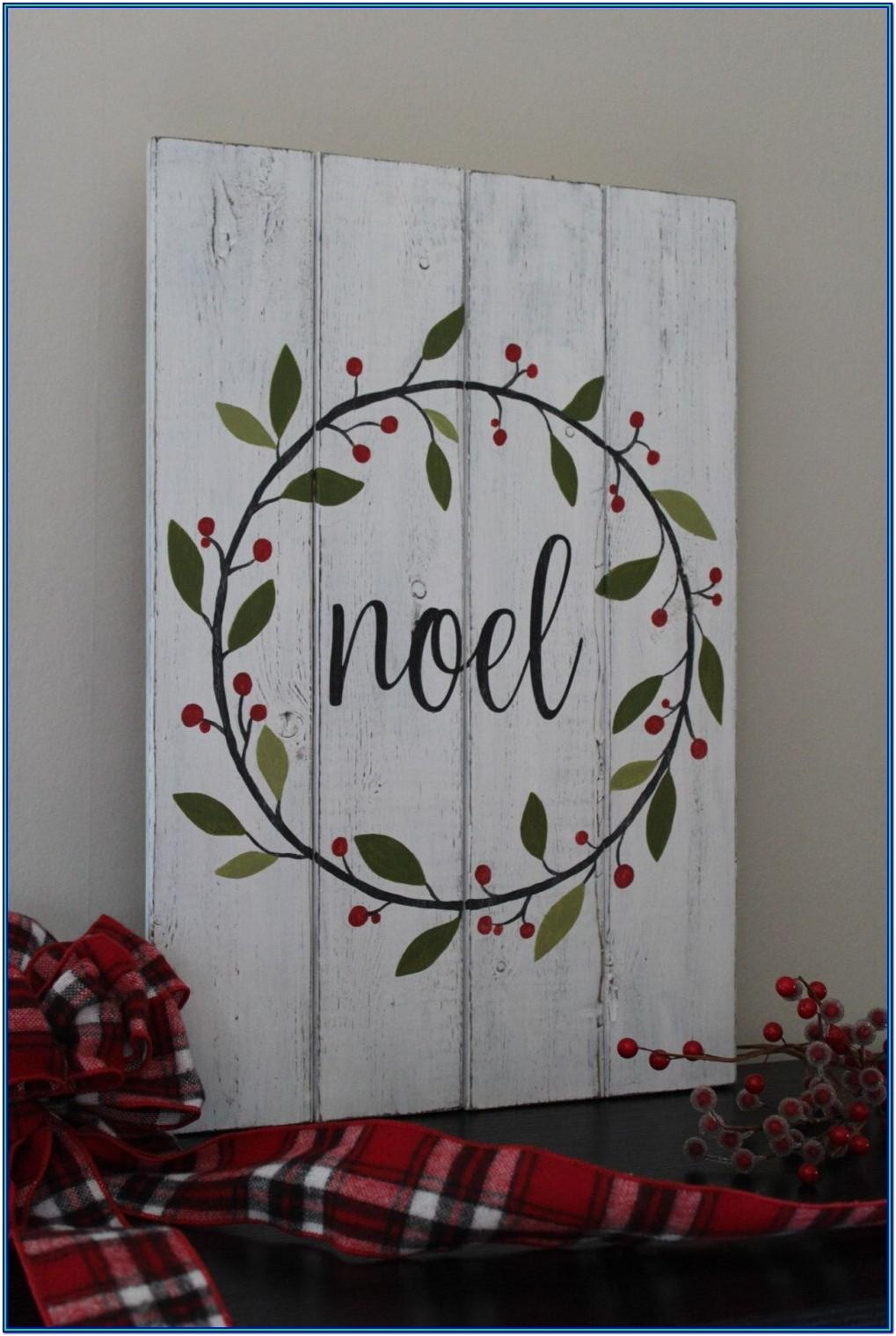Christmas Painting Ideas On Wood