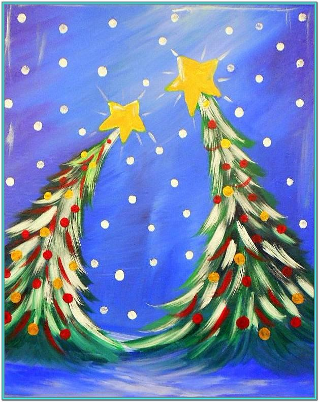 Christmas Tree Painting Ideas