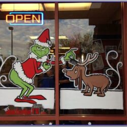 Christmas Window Painting Ideas