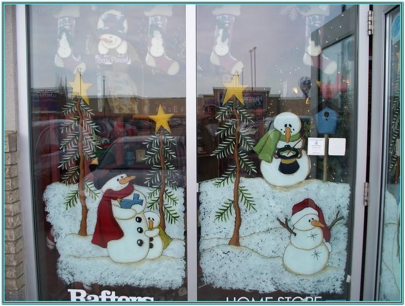 Christmas Window Painting Ideas Pictures