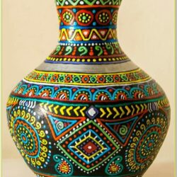 Clay Vase Painting Ideas