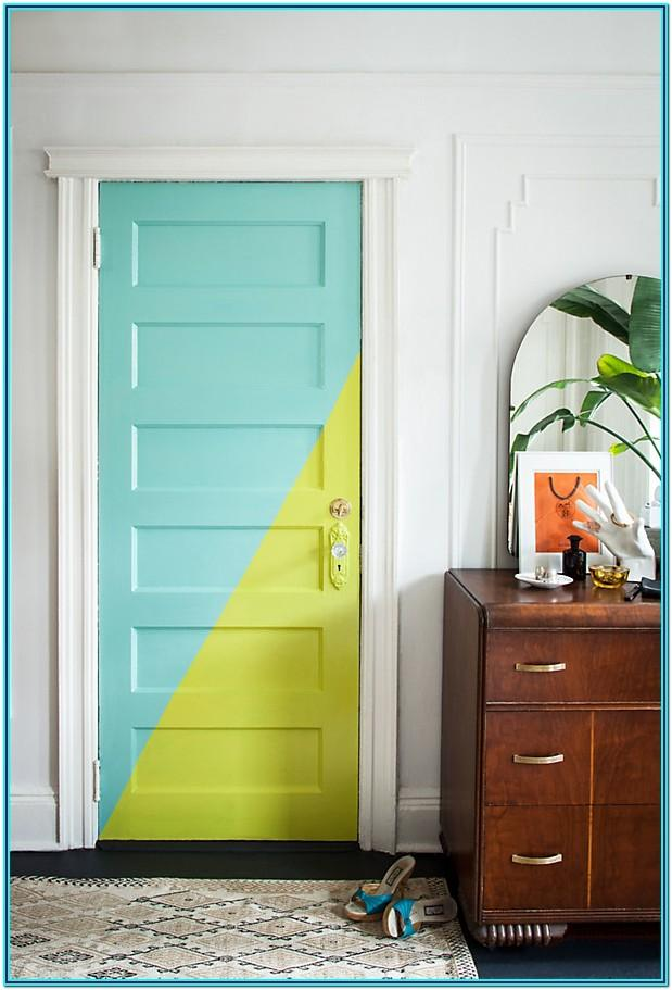 Closet Door Paint Ideas