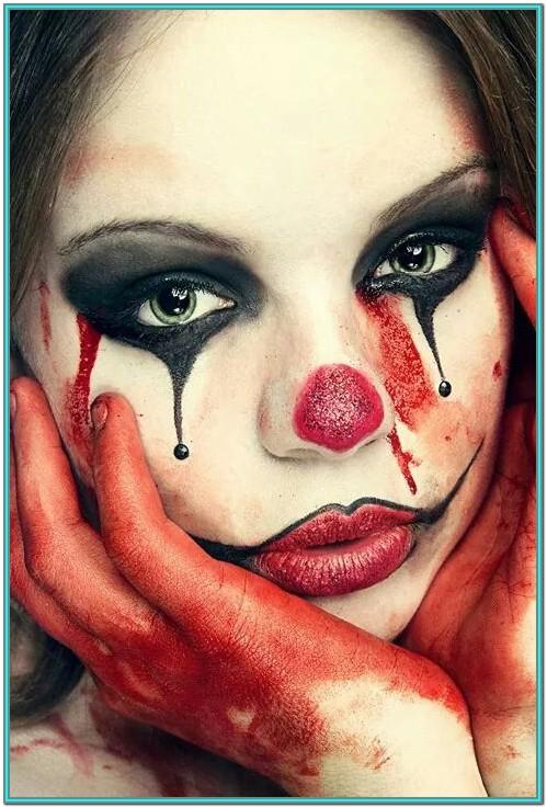 Clown Face Painting Ideas For Adults