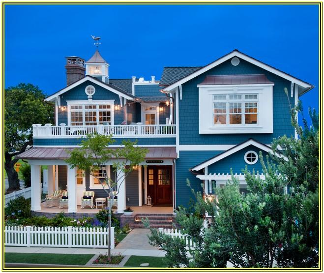 Coastal Beach House Exterior Colors