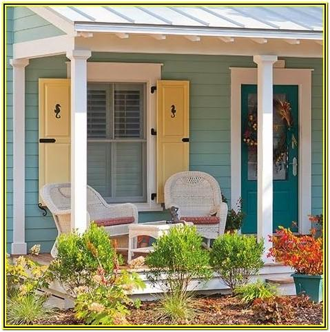 coastal cottage exterior paint colors