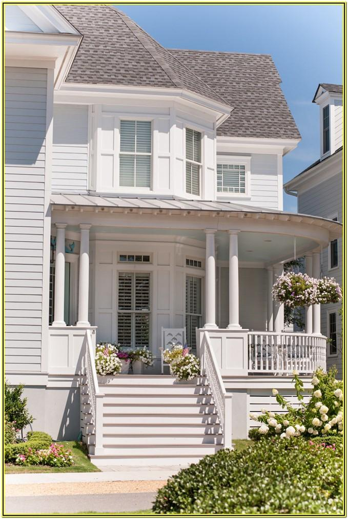 Coastal Exterior House Paint Colors