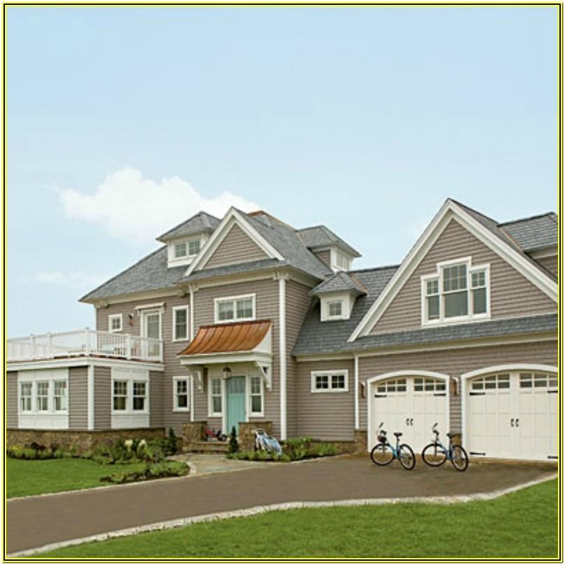Coastal Exterior Paint Color Combinations
