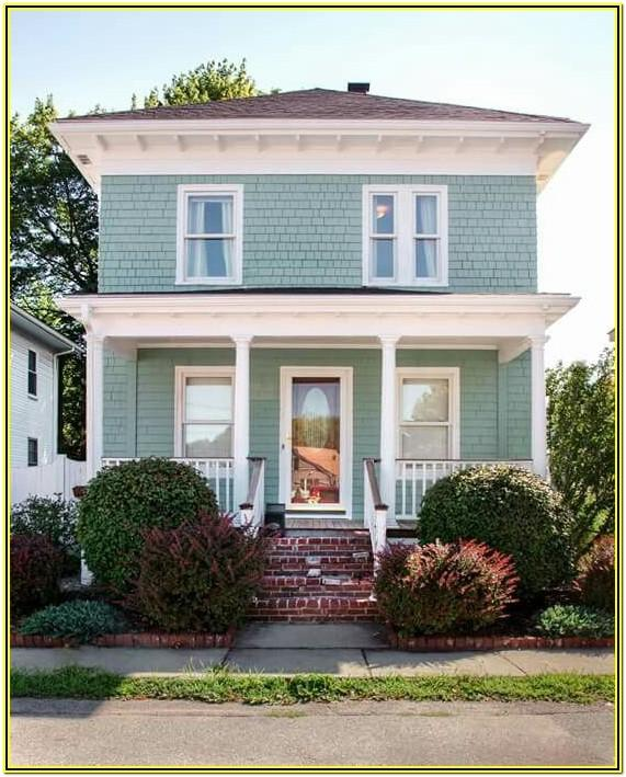 Coastal Home Exterior Paint Colors