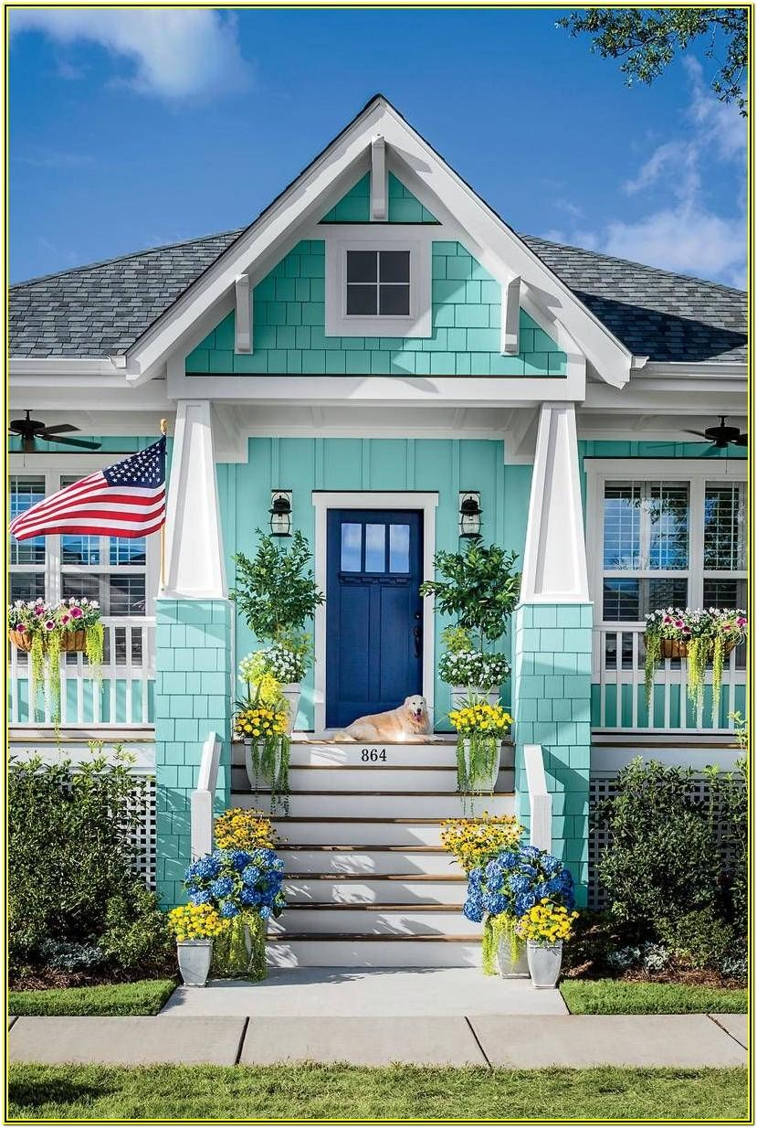 Coastal Living Exterior Paint Colors