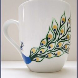 Coffee Cup Painting Ideas