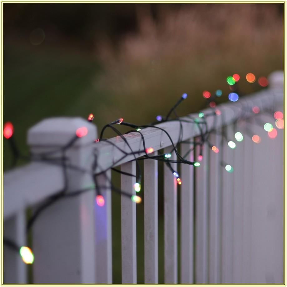Color Changing Outdoor Led String Lights